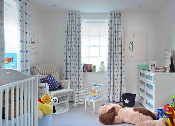 Шторы в детской спальне